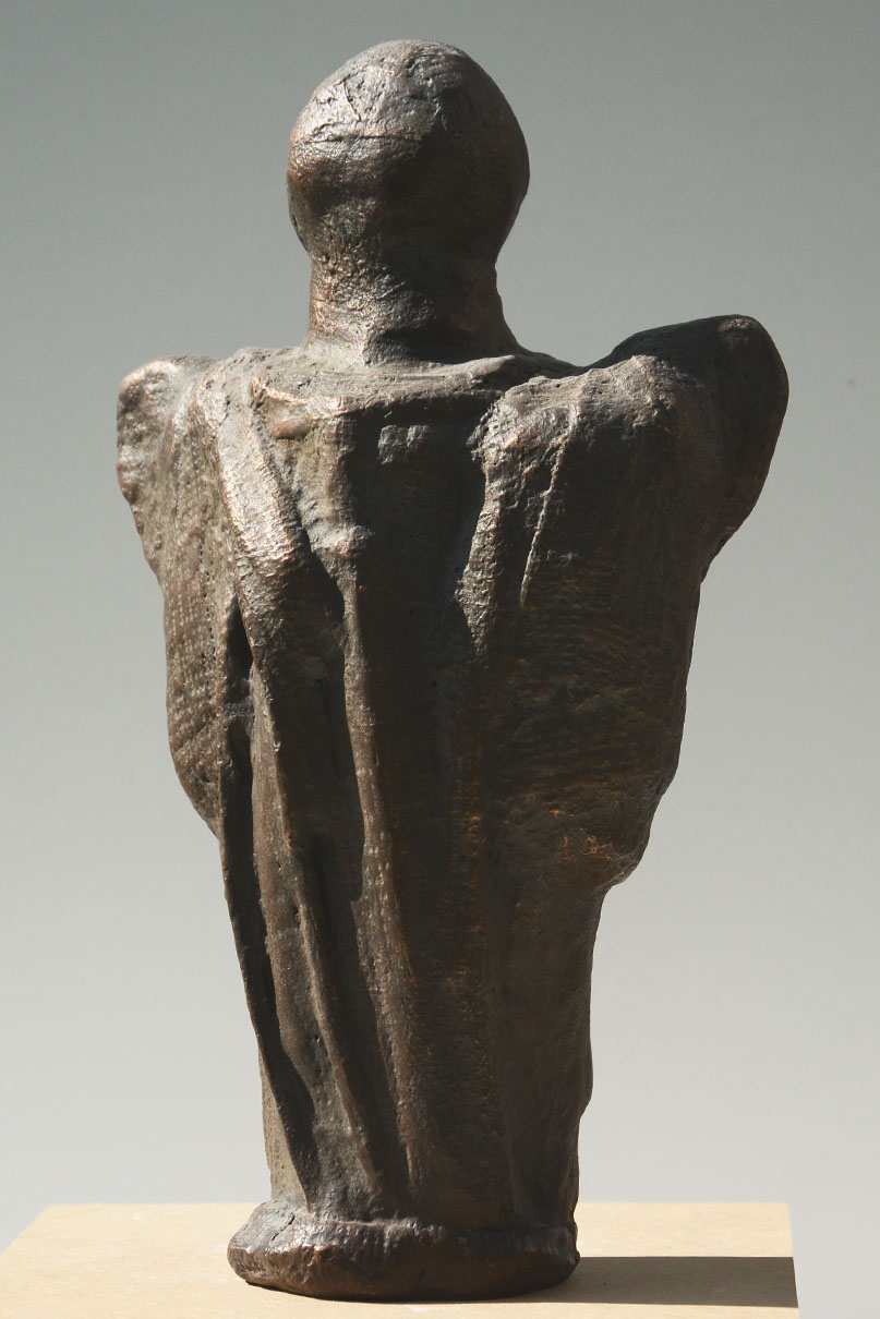 Bronzefigur, ca. 160 x 75 x 240 mm